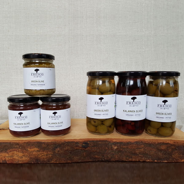 Organic Greek Olives and Tapenade